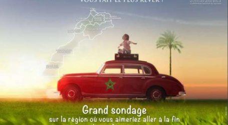 Tourisme interne: Tourisma Post lance un sondage pour désigner la meilleure région