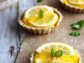 Recette du jour: Tartelettes au citron (pour 12 tartelettes)