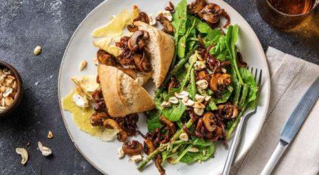 Recette du jour: sandwiches aux champignons