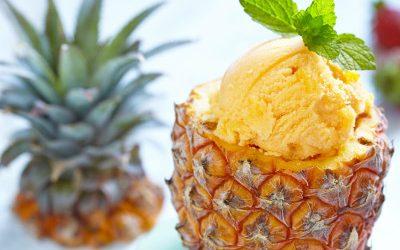 Recette du jour : Glace à l'ananas et à la fraise