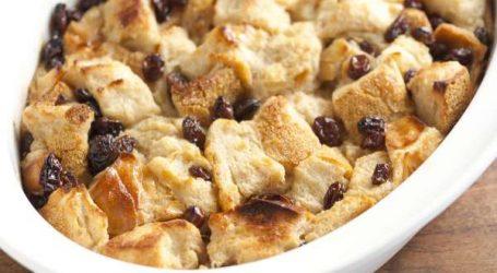 Recette du jour : Pudding au pain