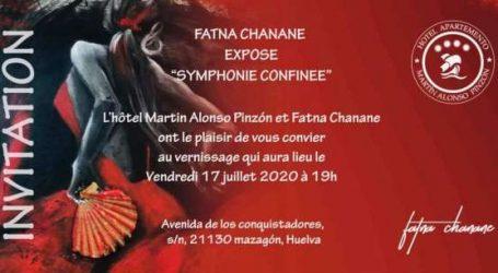 Fatna Chanane, Une tempête de couleurs sous un ciel fermé.