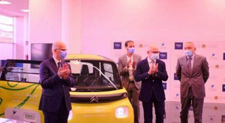 L'usine PSA de Kénitra livre 225 véhicules électriques Citroën Ami à Barid Al-Maghrib