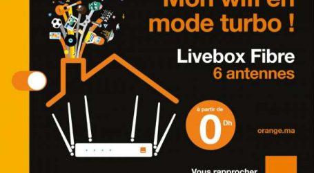 Orange lance le Livebox Fibre à 6 antennes