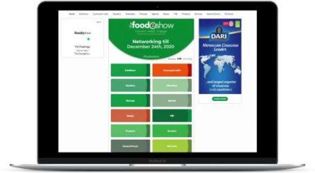 The FoodEshow présente ses résultats: plus de 1300 participant.e.s de 95 pays pour la première édition de The FoodEshow, 1er salon virtuel international de l'agro-industrie