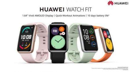 Donnez du style à vos séances de fitness avec la nouvelle HUAWEI WATCH FIT