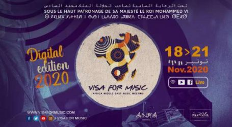 Programme VISA FOR MUSIC 2020 – Du 18 au 21 novembre